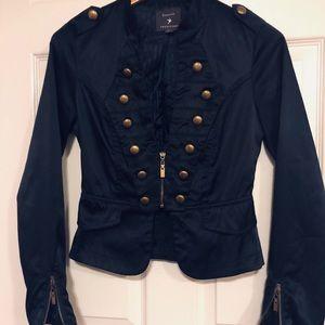 Forever Twenty One small navy blue jacket